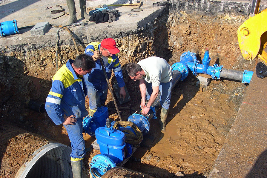 Constructeurs de réseaux de canalisations