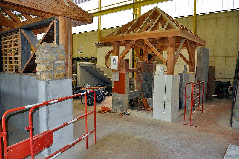 Bac pro Interventions sur le patrimoine bâti - option charpente