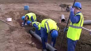 CAP Constructeur en canalisations de travaux publics