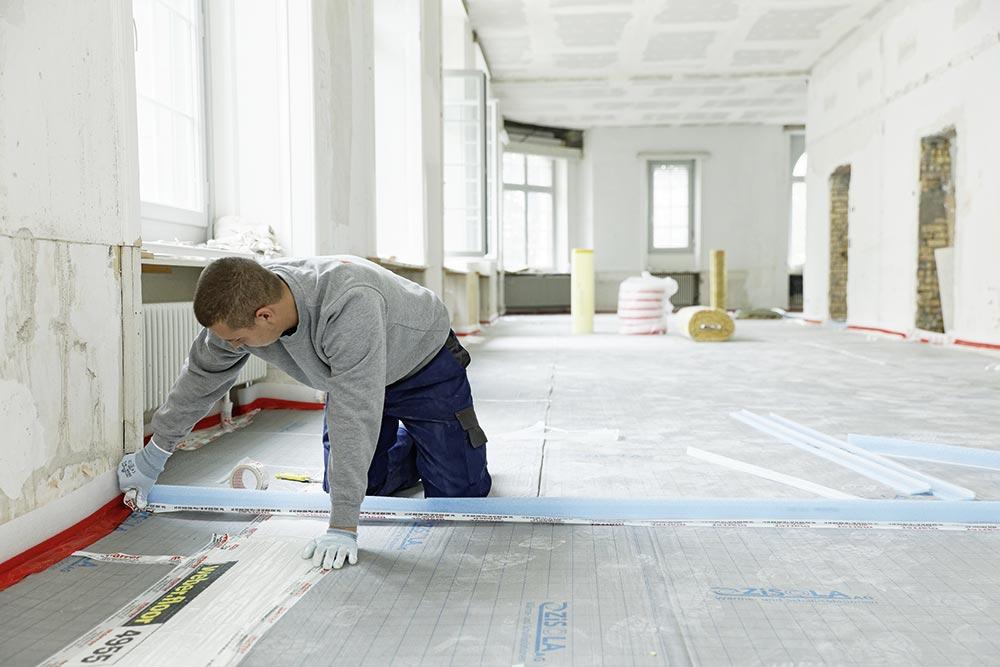 Constructeur des sols industriels